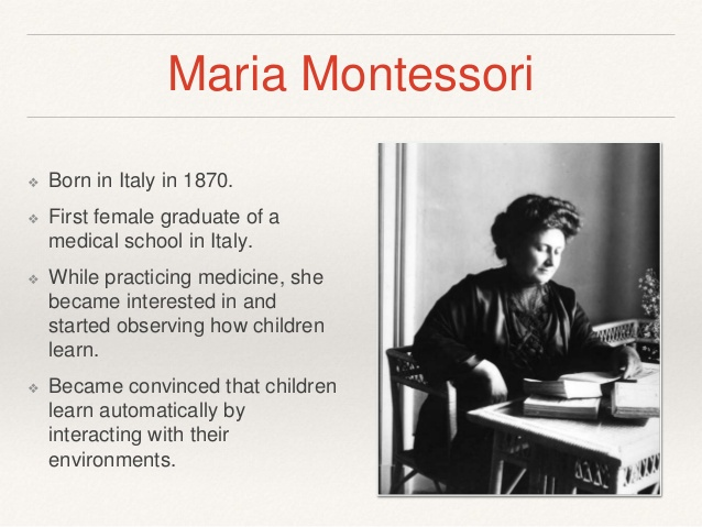 montessori philisophy essay We outline the montessori method and philosophy of education montessori  education uses a philosophy and approach that's progressive and differs from  what.